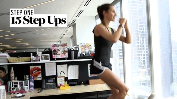 3 Desk Workouts To Get A Quick Exercise Break At Work