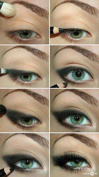tuto maquillage charbonneux