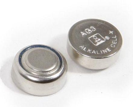 AG3 batterij  voor het MINI gehoorapparaat  5 stuks: