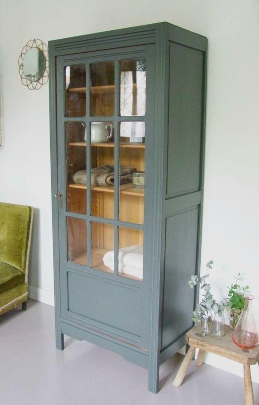 Armoire Vaisselier Vintage Meubles Art Deco Mobilier De Salon