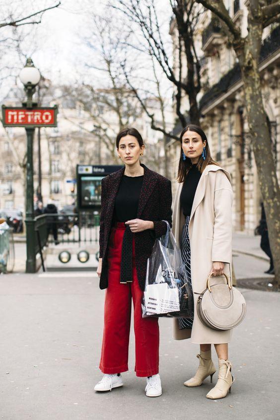 Gli Arcani Supremi (Vox clamantis in deserto - Gothian): Paris Fashion Week Fall 2018 street style