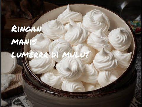 Meringue Cookies Kue Busa Youtube Kue Kering Hidangan Penutup Kue