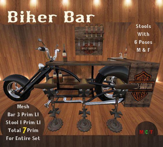 Biker Bar Set