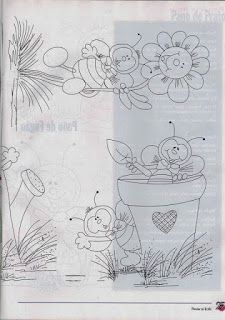 Amor-Perfeito-Amor: abelhas