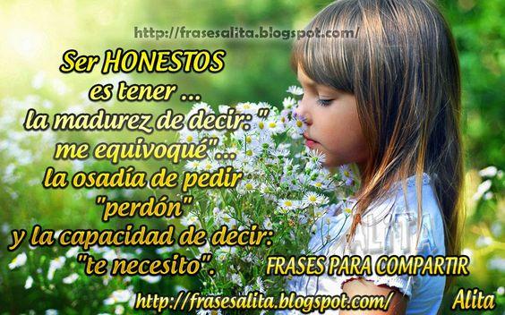 Frases Para Compartir Honestidad Pedir Perdon Frases Pedir Perdón