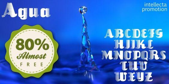 Agua font download