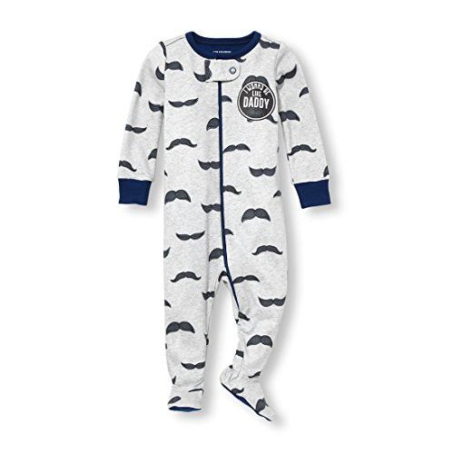 The Childrens Place Baby Boys Long Sleeve Printed Stretchie