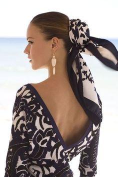♔ How to wear a Shawl / Scarf