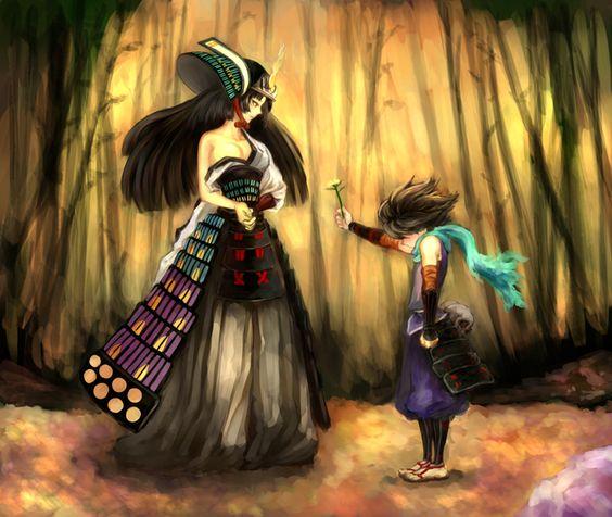 Torahime from Muramasa: The Demon Blade awww