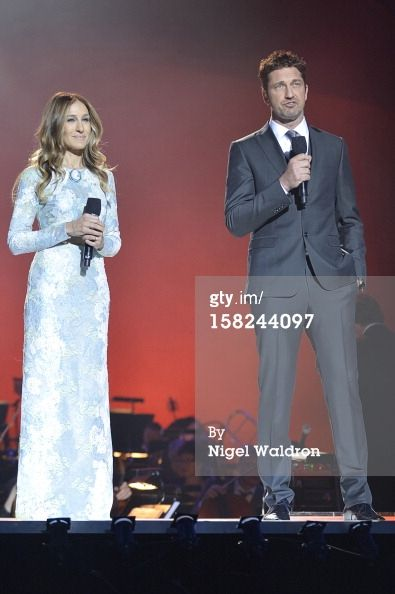News Photo: Sarah Jessica Parker and Gerard Butler attend the…