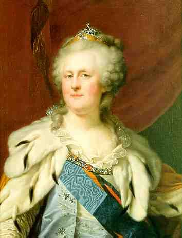 Catherine II the Great, Born Sophie Friederike Auguste