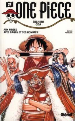 Couverture One Piece, tome 02 : Aux prises avec Baggy et ses hommes
