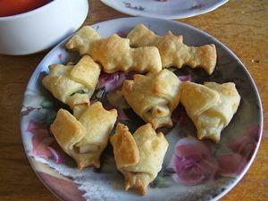 Fledermaus Snack für Halloween - Bat Snack