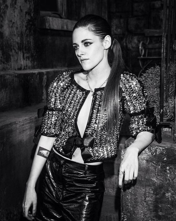 Kristen at the Metier d'art show in Rome