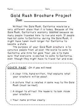 the california gold rush essays