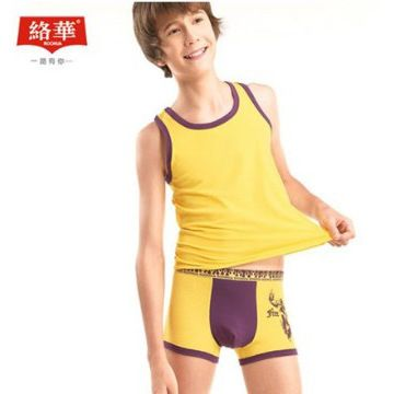 Youth Boxer Wide Elastane 5%Spandex 95% Cotton Boy Underwear ...