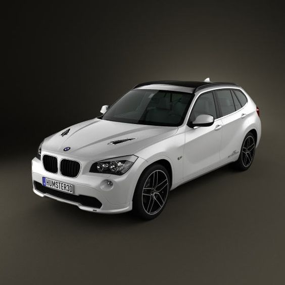 BMW X1 2010 AC Schnitzer 3d model from humster3d.com. Price: $75