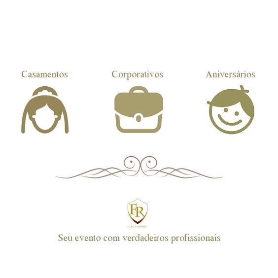 Todos os tipos de evento. Os melhores profissionais. Um só lugar: Família Raposo Gastronomia. #gastronomia #eventos #buffet #casamentos #aniversário