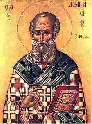 Santos, Beatos, Veneráveis e Servos de Deus: Santo Atanásio, Bispo e Doutor da Igreja (um dos S...