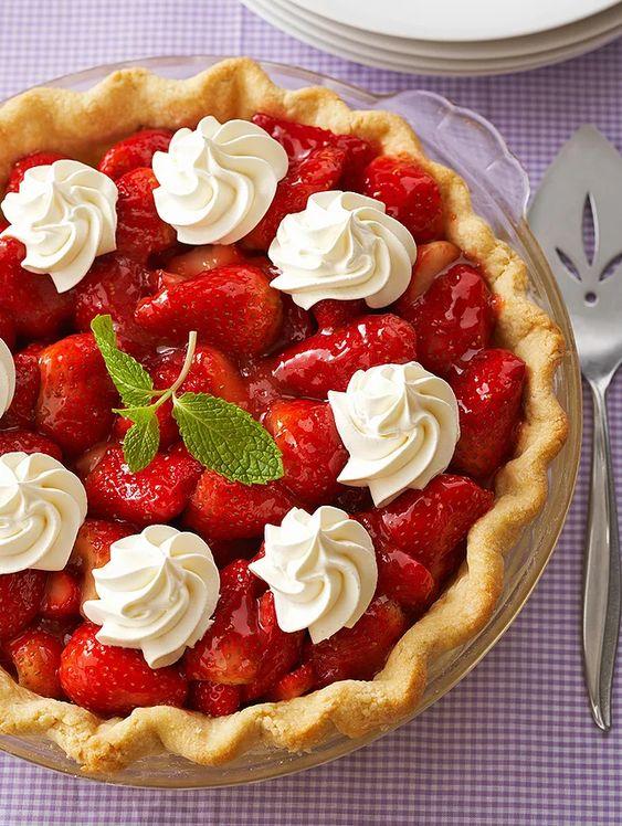 Better Homes And Gardens Strawberry Rhubarb Pie Recipe