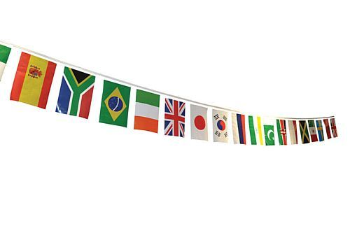 7m International Countries Bunting 25 Flag 2018 Football World Cup Bunting