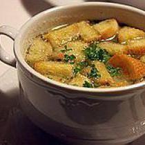 Cure Your Hangover with Czech Garlic Soup: Czech Garlic Soup