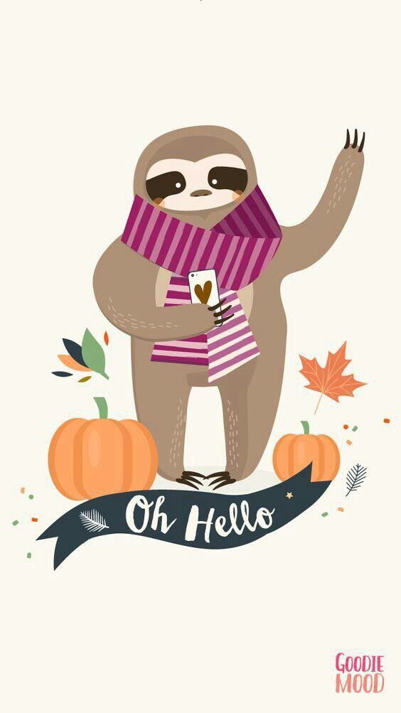 Pin By Shelly Politte On Cute Sloth Stuff Sloth Iphone Wallpaper Cute Sloth