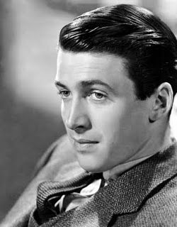 Jimmy Stewart is so handsome and classy