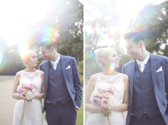 Mint And Gold Glitter Alternative Quirky Wedding Photography Ideas Rainbows Prism Vintage