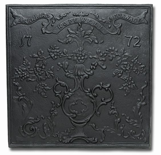 Features:  -Made of iron.  -Ornate fire back is a lovely addition to your hearth.  -Solid cast iron fire backs absorb heat.  -Fire backs protect firebrick, increasing the life of the fireplace.  -Desi