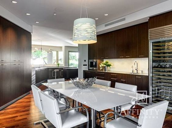 High Quality Contemporary Kitchen By Affinity Kitchens