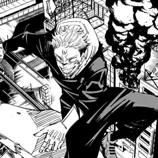 Sukuna Jujutsu Kaisen Jujutsu Manga Pages Anime Screenshots