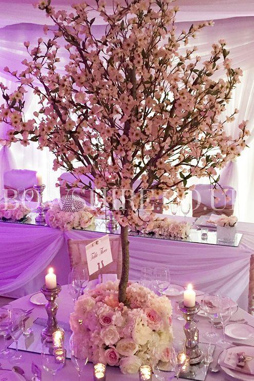 Pink Blossom Tree Hire 280cm 100 00 Bows Hire Centros De Mesa Disenos De Unas Creatividad