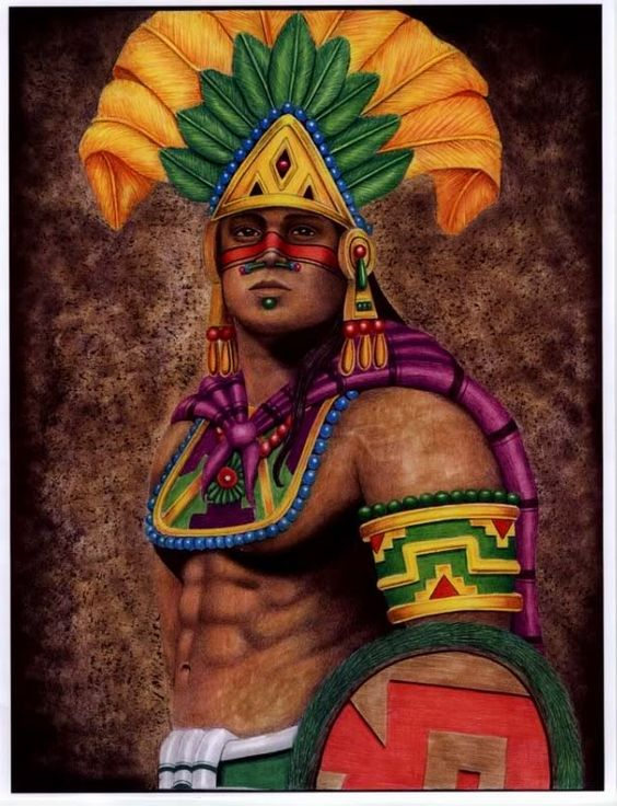 Aztec warrior, Aztec and Warriors on Pinterest
