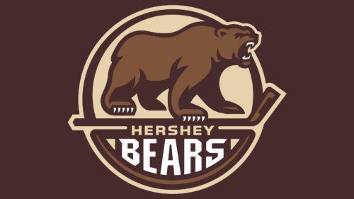 Hershey Bears Symbol Hershey Bears Hockey Logos Bear Logo