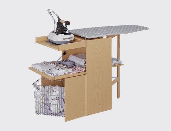 Mueble planchar lo stiro natural lo stiro es una tabla de for Mesa para planchar