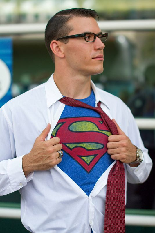 Character: Superman (Kal-El, aka Clark Kent) / From: DC Comics 'Superman' & 'Action Comics' / Cosplayer: Unknown / Event: San Diego Comic-Con (2014)