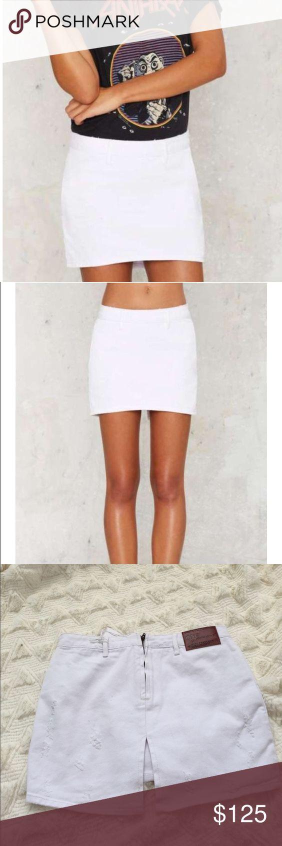 Bnwt one teaspoon white Demi skirt Bnwt One Teaspoon Skirts