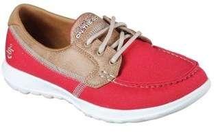 Women's Gowalk Lite Coral Boat Shoe