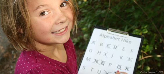 Alphabet, Number & Shape Hike - National Wildlife Federation