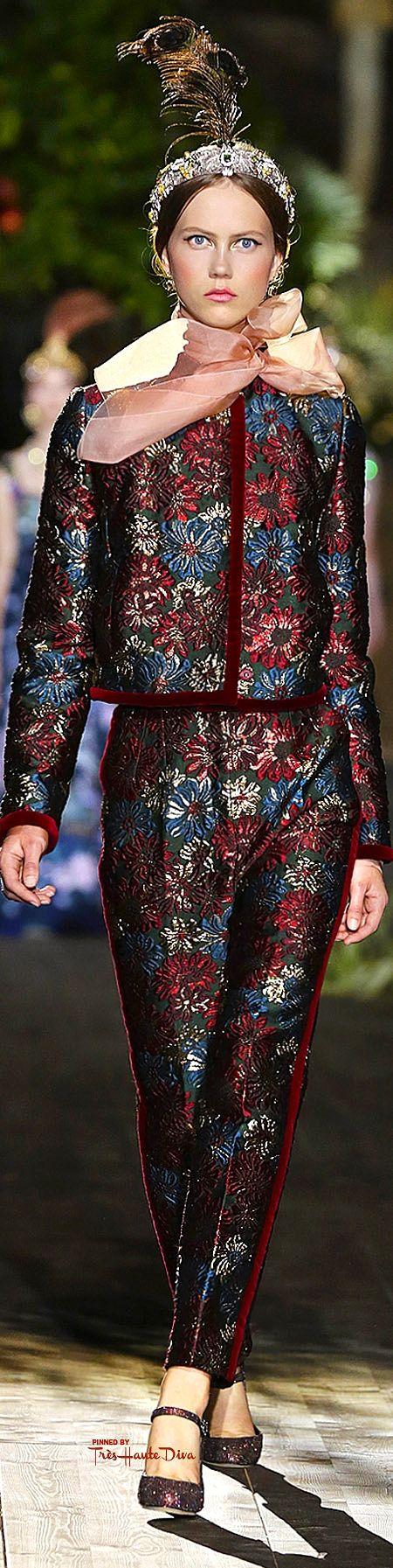 Dolce & Gabbana Alta Moda jesień 2015