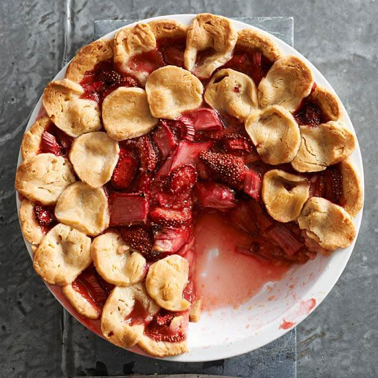 Best-Ever Strawberry Rhubarb Pie | Receta | Postres de ...
