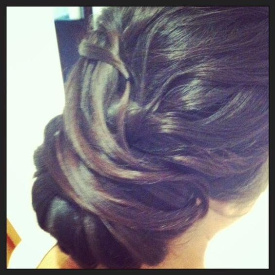 www.harpier.com.au  #bridalupstyle #weddinghair #twistedbun#   Enquire now for wedding hair an makeup!!