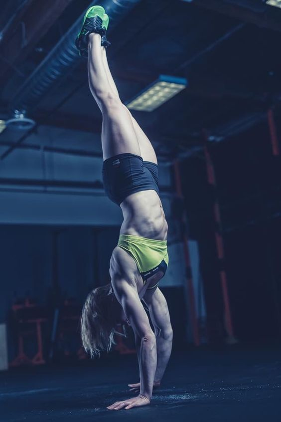 Handstand Walking -Annie T. #CrossFit #Motivation #Inspiration: