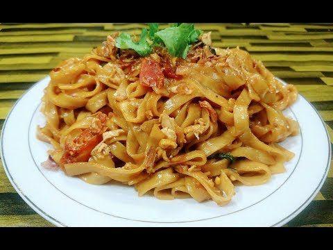 Mie Goreng Pipih Dijamin Enak Youtube Makanan Resep Mie