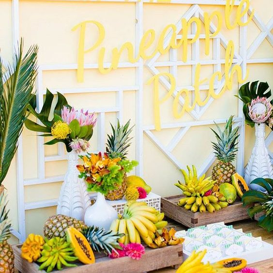 Weekend inspiration... About to hit up the markets to have a kitchen that looks like this!  #colourmad #tropicalgoodness #yesplease Found on Stylemepretty.com