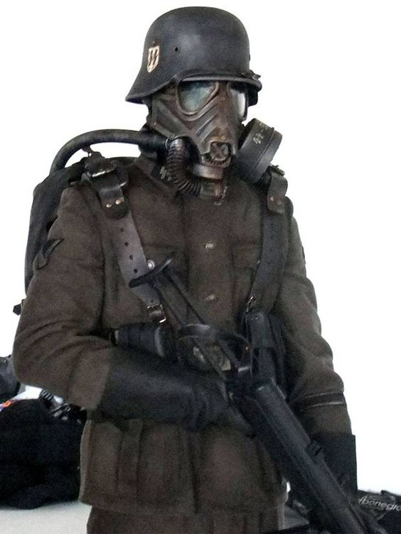Dieselpunk Soldier iron sky soldiers - П...