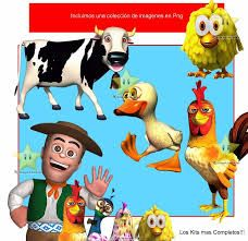 Resultado De Imagen Para Animales De La Granja De Zenon Para Imprimir Canciones De La Granja La Granja De Zenon Fiesta De Animales De Granja