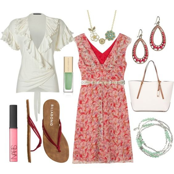 Red and Pink, created by chrome745 on Polyvore