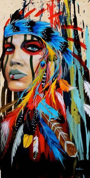 work of painter Darrell Driver StA*